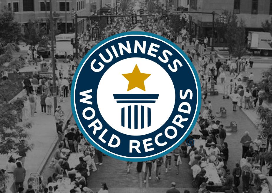 Een dubbele recordpoging